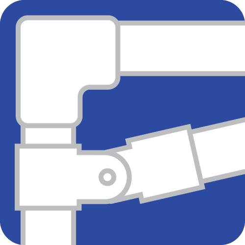 lean tube pipe icon