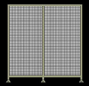 aluminum profile T-Slot Extrusion barrier fencing