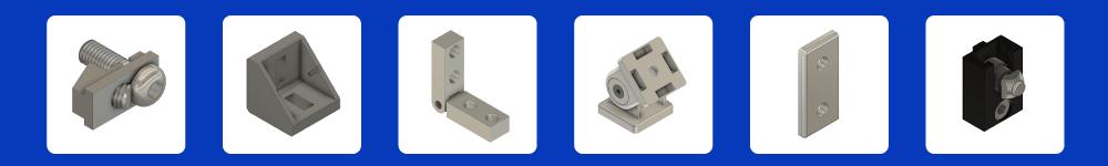 aluminum profile T-Slot Extrusion Connectors
