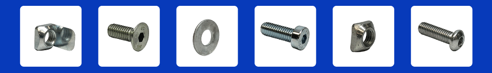 aluminum profile T-Slot fasteners