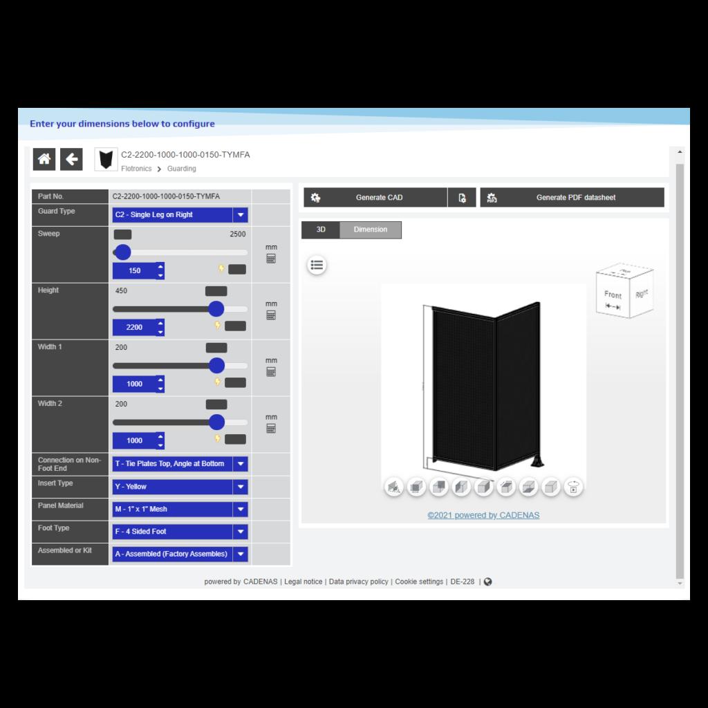 aluminum profile T-Slot Extrusion robotic machine guarding CAD download