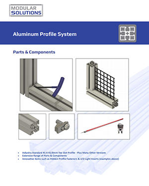 aluminum profile T-Slot Extrusion - Parts & Components